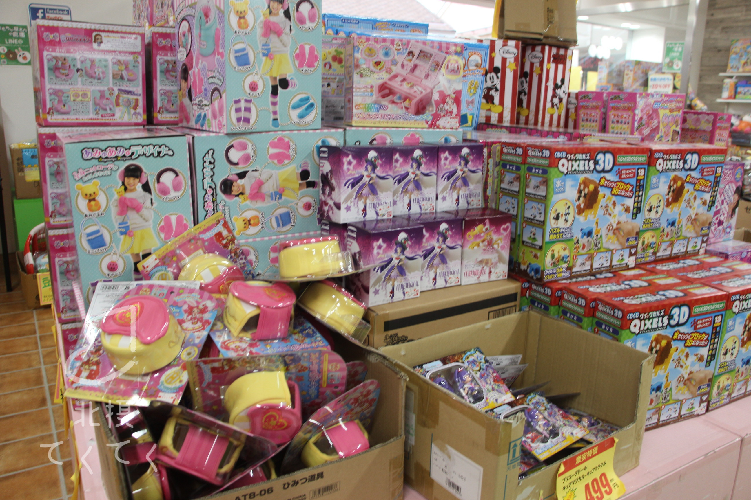 とにかくおもちゃが安い!「おもちゃ屋さんの倉庫」箕面キューズモールの人気商品。